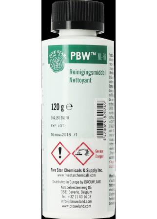 Nettoyant PBW Five Star 120g