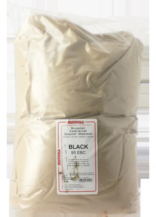 Extrait de malt poudre black 5 kg 95 EBC