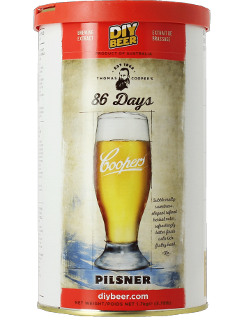 Kit à bière Coopers 86 days Pilsner