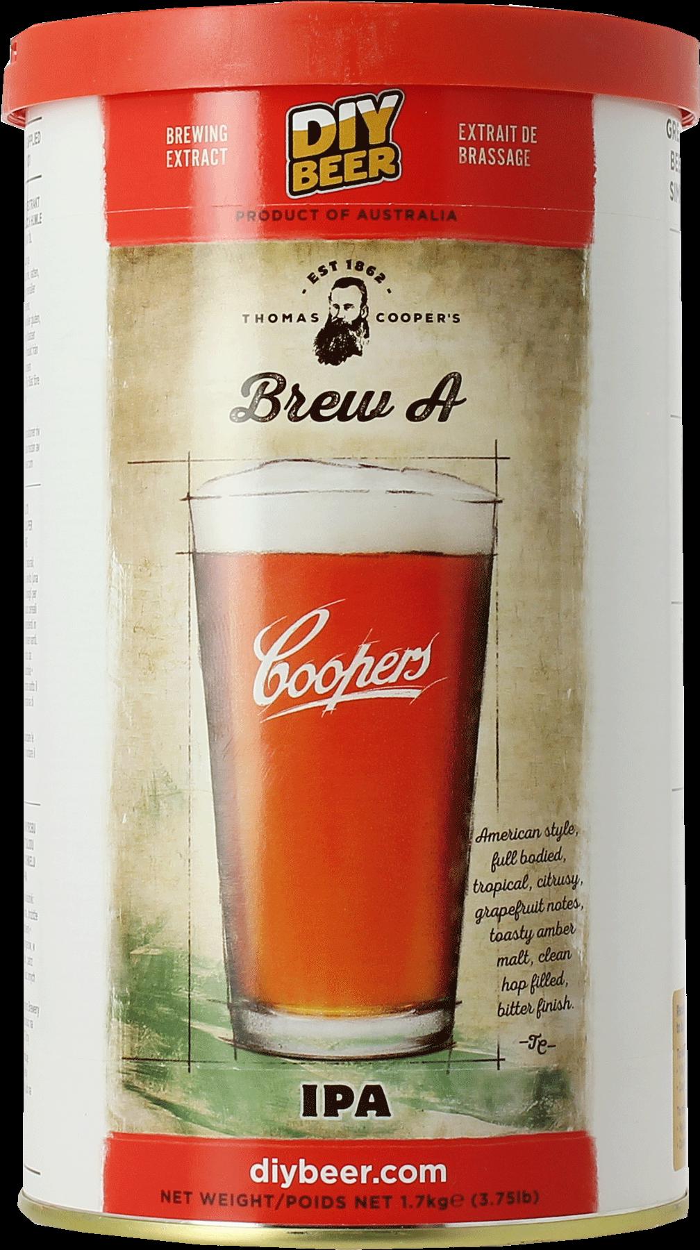 Kit à bière Coopers Brew A IPA 1,7kg