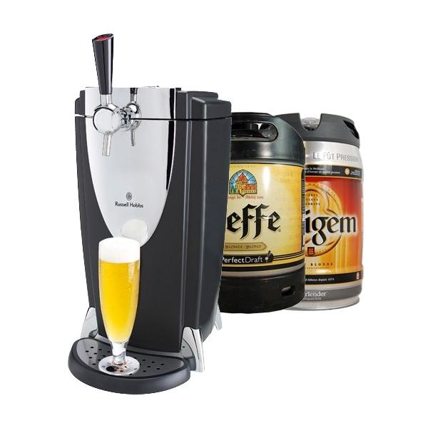machine bi re russell hobbs pro 1 f t leffe 1 f t affligem pompe biere tireuse russel hobbs. Black Bedroom Furniture Sets. Home Design Ideas