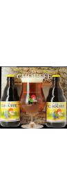 Coffret Chouffe Blonde (2 bières, 1 verre)