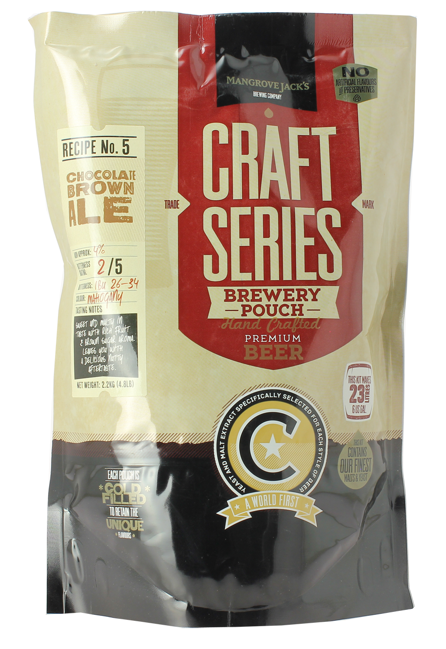 Kit Mangrove Jack's Craft Series Chocolate Brown Ale