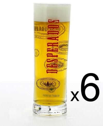 Verre A Biere Desperados Lot De 6 Verres Despe