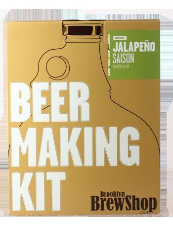 Brooklyn Brew Kit Saison Jalapeno