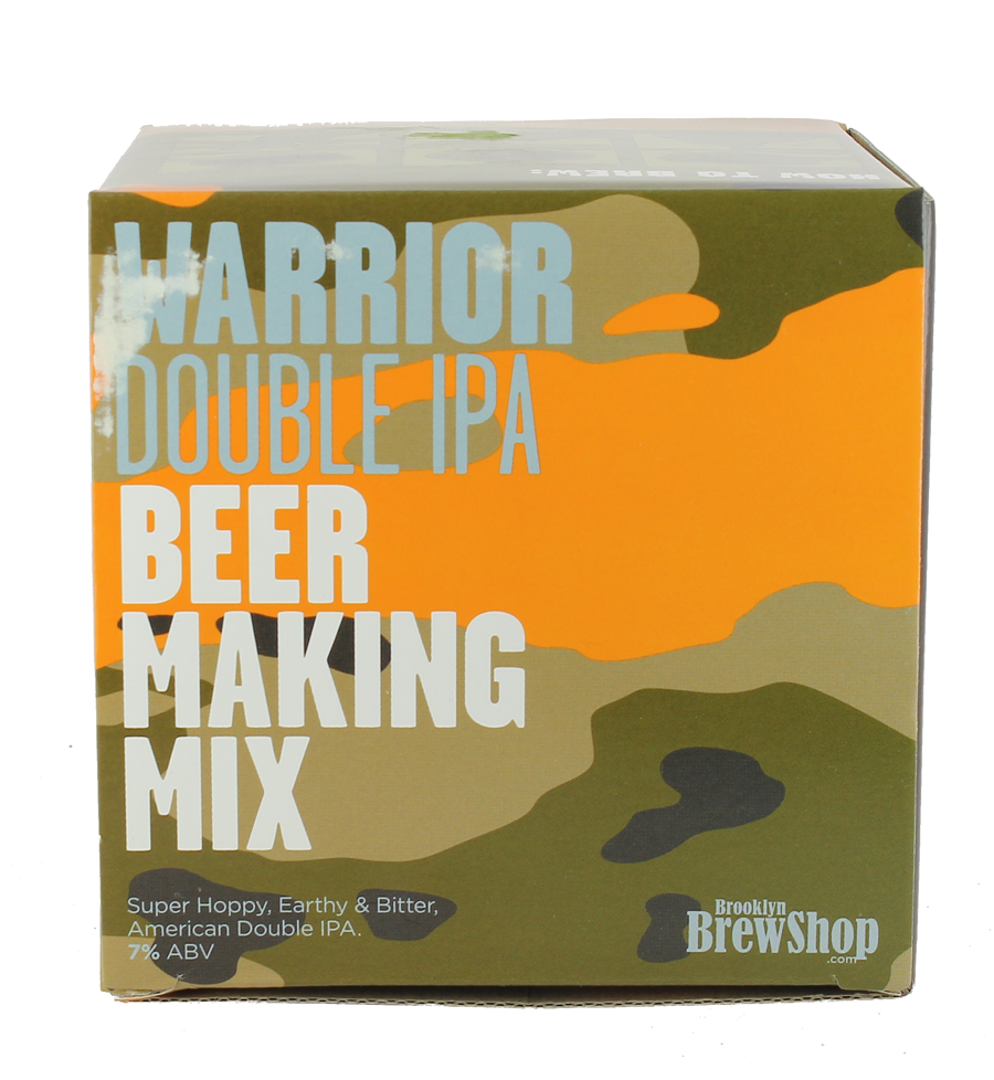Recarga de Warrior Double IPA del Brooklyn Brew kit