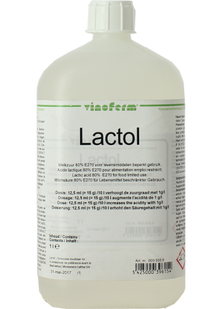 Acide lactique 1L