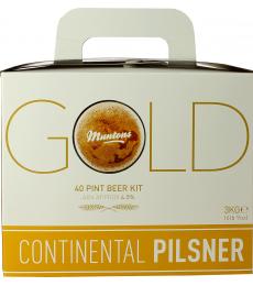 Kit à bière Muntons Gold Continental Pilsner 3kg