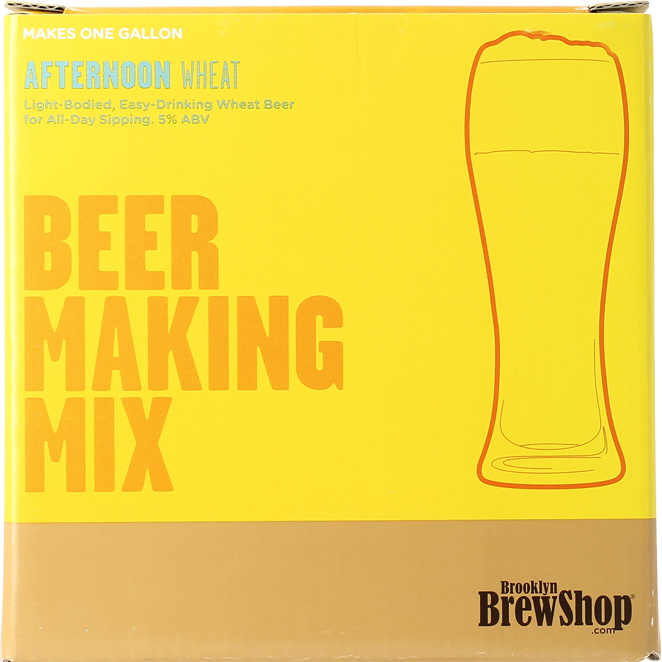 Recharge Brooklyn Brew kit Afternoon Wheat
