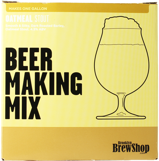 Recarga para el kit de elaboración de cerveza Oatmeal Stout de Brooklyn Brew Kit