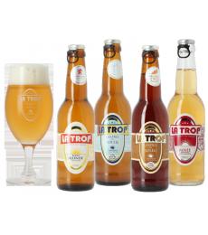Pack La Trop (4 bières, 1 verre)
