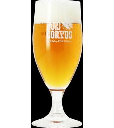 Dois Corvos stem beer glass