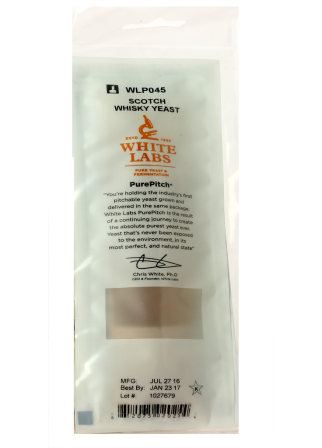 Levure liquide WLP045 Scotch Whiskey - White Labs - PurePitch