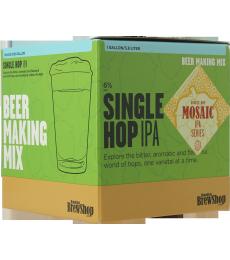 Recharge Brooklyn Brew Kit Mosaic Single Hop IPA