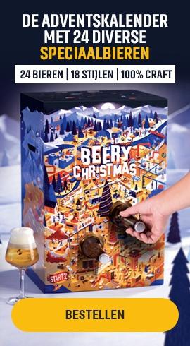Beery Christmas - DE ADVENTSKALENDER MET 24 DIVERSE SPECIAALBIEREN