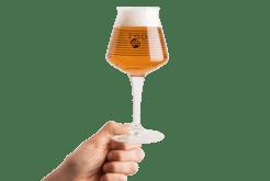 Vasos de cerveza de degustación