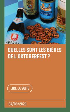 Article bières oktoberfest